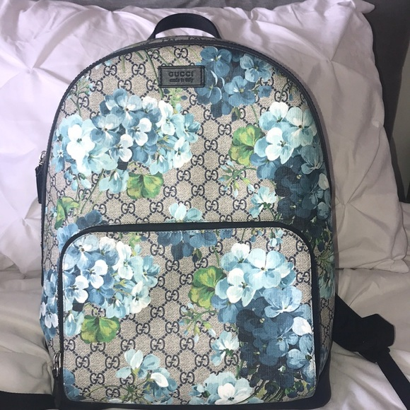 Gucci Handbags - Gucci floral backpack 3ea1f66d66452